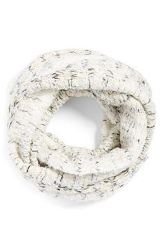boucle knit infinity scarf @nordstrom #nordstrom