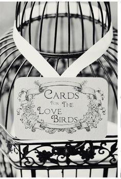 52 Trendy ideas for wedding card holder birdcage cute ideas Fall Wedding, Diy Wedding, Dream Wedding, Love Birds Wedding, Wedding Table Centerpieces, Wedding Decorations, Birdcage Card Holders, Guest Book Table, Card Box Wedding
