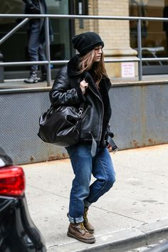 Keira Knightley Has a Cool New Off-Duty Look