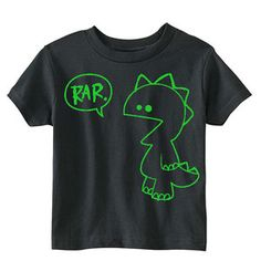 Rar Monster Tee Black now featured on Fab.