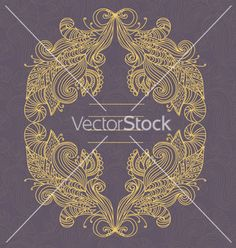 Frame vector 1096352 - by Letta on VectorStock®