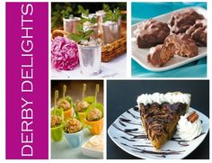 Kentucky Derby Delights! Whip up some of these yummies for your Derby watching!