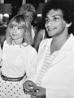 France Gall et Michel Berger en 1980