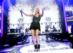 Carrie Underwood at the iHeartRadio Music Festival2011.. Enter now for a chance to win a trip and tickets to iHeartRadio Music Festival 2012: http://vegas.iheart.com/go/iheartradio-music-festival/   Listen to your own Carrie Underwood inspired station on iHeartRadio: http://www.iheart.com/#/artist/Carrie-Underwood-89416/?pname=pinterest=carrieunderwoodradio