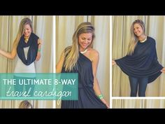 The Ultimate 8-Way Travel Cardigan (+ GIVEAWAY!) • The Blonde Abroad
