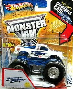 RAZIN KANE Hot Wheels Monster Jam 2013 First Edition Includes Crushable Car