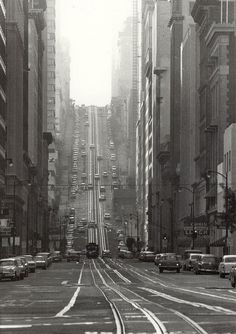 by Todd Walker California Street, San Francisco, 1964.