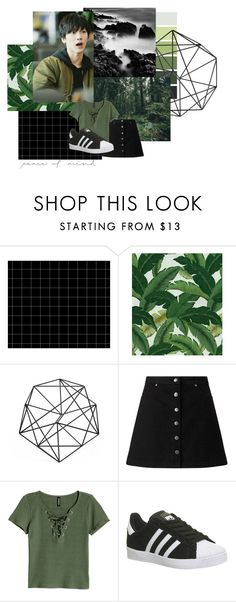 """Ten (NCT)"" by czanneeula ❤ liked on Polyvore featuring Tommy Bahama, Miss Selfridge and adidas"
