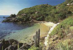 Estacahuite beach Puerto Angel, Oaxaca, México
