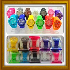 FunK co Unisex Watches with 13 vibrant colours to choose from. 1 for $20, 2 for $35 or 3 for $50!