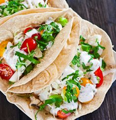 Fish Tacos - delicious healthy fish tacos with grilled marlin steaks, simply amazing! Fish Recipes, Seafood Recipes, Mexican Food Recipes, Great Recipes, Favorite Recipes, Healthy Recipes, Recipies, Tostadas, Enchiladas
