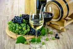 Two Types Of Wine, White, Wine