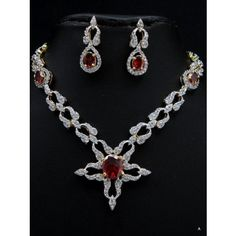Elegent CZ necklace set - Online Shopping for Necklaces by Pirates Loot -Jewelery Collection