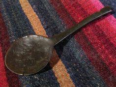 トクチャ 湯匙天鐵 Antique Tibetan Spoon Thokcha