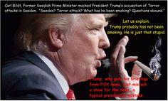 SWEDEN CRISIS TRUMP SMOKING Debbie Brown (@JerashkimBrown) | Twitter