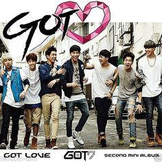 GOT7 - GOT♡ GOT LOVE (2nd Mini Album) [CD + Alphabet Chip] + GIFT
