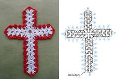 Second new edge chart....Pretty cross that would make a nice pendant!!..