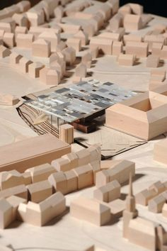 Architectural Model - Bauhaus Museum, Weimar