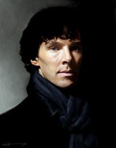 Sherlock fan art?