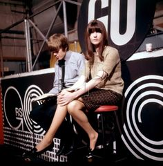 Cathy McGowan and a Herman's Hermit?