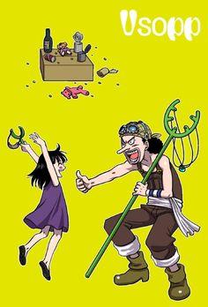 Robin and Usopp
