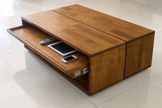 Coffe Table, Coffee Table With Storage, Decorating Coffee Tables, Coffee Table Design, Multifunctional Furniture, Teak Furniture, Furniture Design, Ceiling Design Living Room, Living Room Designs