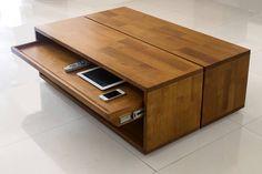 Twins coffee table
