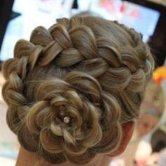 Flower French Braid