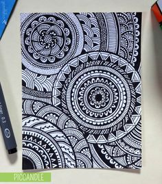 zentangle art para cuadernos - Buscar con Google