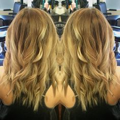 Beautiful sombre by Nichole at NC Hair Studio