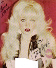 angelyne 80s - photo #1