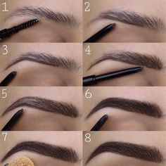Eyebrows - Makeup Tips Lips - Eyebrows - Makeup Tips Lips - . - Eyebrows – makeup tips lips – eyebrows – makeup tips lips – up - Makeup Tips Lips, Eyebrow Makeup Tips, Applying Eye Makeup, Eye Makeup Tips, Makeup Inspo, Lip Makeup, Makeup Eyebrows, Contour Makeup, Beauty Make-up