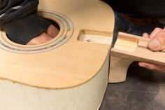 Building an Acoustic Guitar class with Brian Gaines at Woodcraft, Colorado Springs