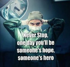 Yeah one day I ll be a hero‍⚕️