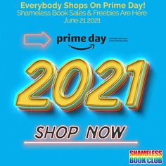 Everybody 🛒 On Prime Day 2021! Shameless Book Sales & Freebies are here!