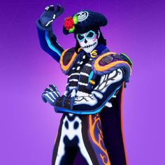 All Fortnite Season Announce Trailers! All Fortnite Battle Royale Season Trailers. From the First Fortnite Trailer to Fortnite Season 7 Trailer. Glow, Mexican Holiday, Sugar Skull Makeup, Game Guide, Epic Games, New Skin, Season 7, Character Outfits, High Quality Images