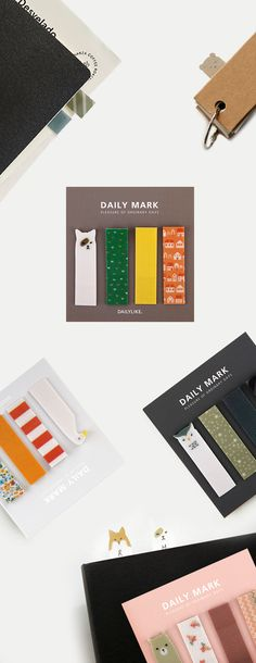Cutest page flags ever!! The Dailylike Index Sticky Note Set comes in several styles featuring the cutest animals and matching patterns. Check it out and decorate your planner and notebooks like never before!