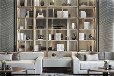 19 veces he visto estas grandes muebles minimalistas. Luxury Homes Interior, Luxury Apartments, Interior Architecture, Interior Design, Interior Chino, Luxury Furniture, Furniture Design, Chinese Interior, Shelving Design