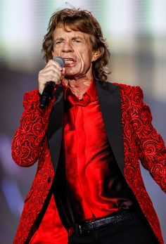 Mick Jagger - The Rolling Stones in Concert - Indianapolis, IN