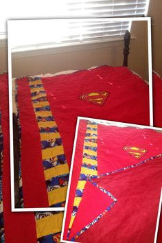 DIY Superman Quilt