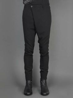Music Express w/ MA_Julius trousers with front panel and four pockets