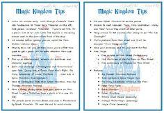 Magic Kingdom Tips | Scribd