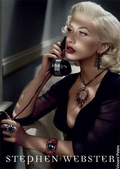 Christina Aguilera for Stephen Webster