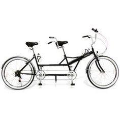 The Folding Tandem Bicycle - Hammacher Schlemmer