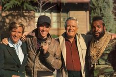 The A-Team was the original Wild boys in the 80's! Description from starcarcentral.wordpress.com. I searched for this on bing.com/images