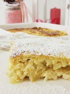 Cazuela de arroz con queso cottage y manzana - backen - Breakfast Dessert, Breakfast Recipes, Yummy Drinks, Delicious Desserts, Austrian Recipes, Good Food, Yummy Food, Casserole Recipes, Rice Casserole