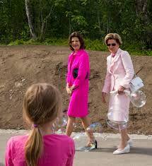 Dronning Sonja med dronning Silvia 19. juni 2013