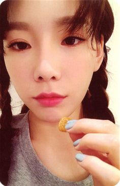 "[SCAN] TAEYEON (태연) — ""My Voice"" 1st Studio Album (Fine Version) Photocard. || ©Ⲃⲉⲉ ...... (@astrodice0130) on Twitter."