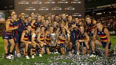 adelaide crows football team. such a great team of hardworking athletes.