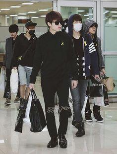 Infinite @ airport fashion
